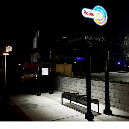 Riverside RapidLink Bus Rapid Transit Shelter-3
