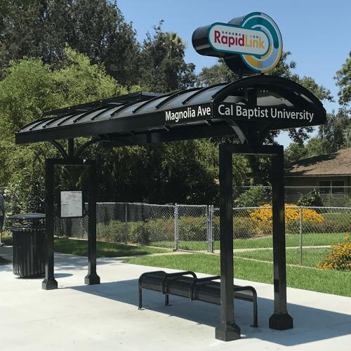 Riverside RapidLink Bus Rapid Transit Shelter-1