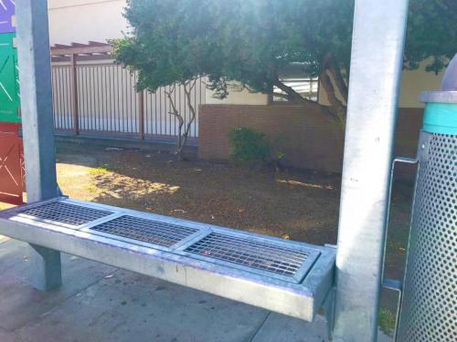 Santa Ana - bench