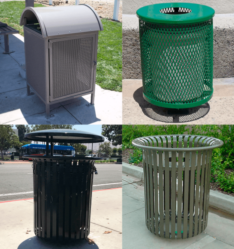 Trash Receptacles